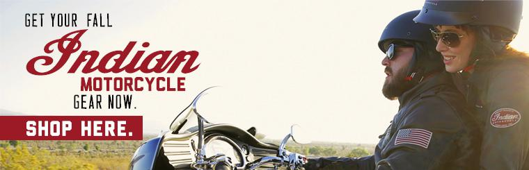 Shop for Fall Indian Motorcycle Gear with Grand Prix Motorsports