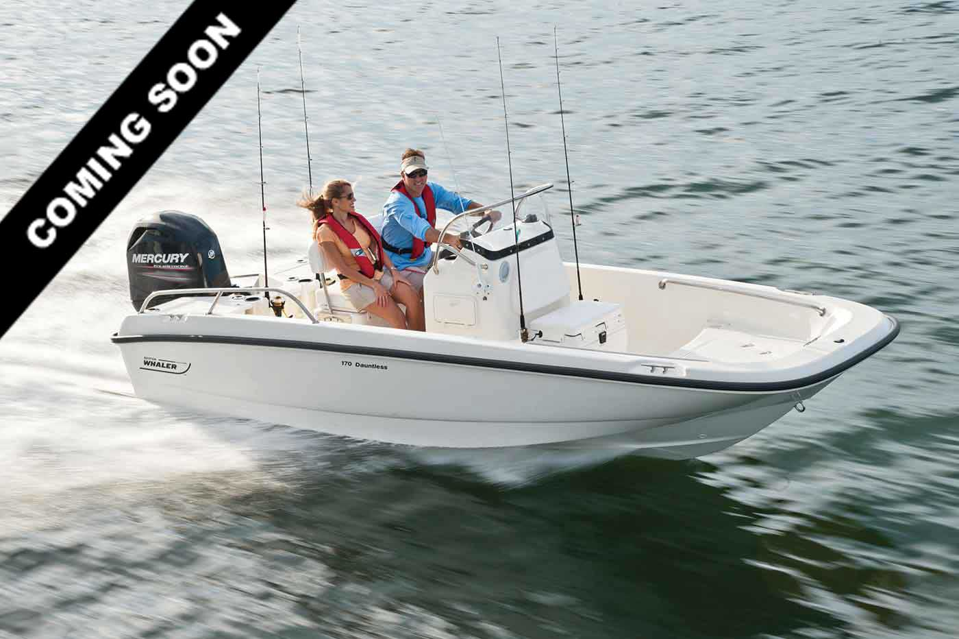 2019 BOSTON WHALER 170 DAUNTLESS for sale