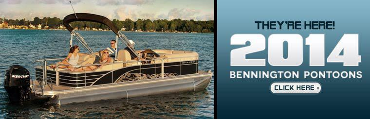 The 2014 Bennington pontoons have arrived!