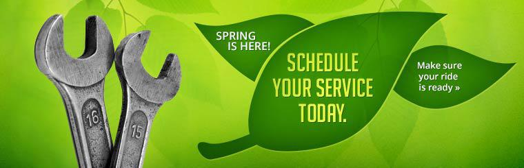 Schedule your service today.