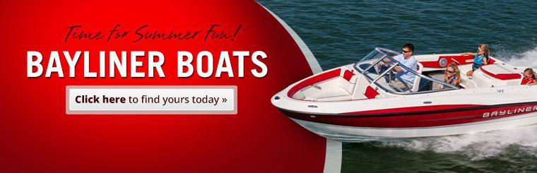 Bayliner Boats: Click here to find yours today.