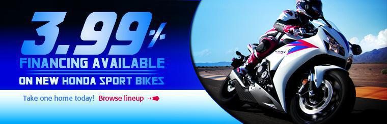 Click here to view new Honda sport bikes.