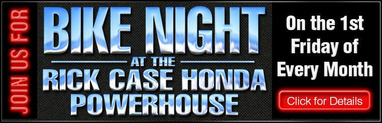 Rick Case Honda Bike Night