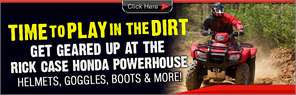 Get Geared Up at the Rick Case Honda Powerhouse