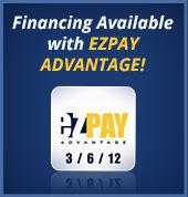 Financing Available with EZPAY Advantage!