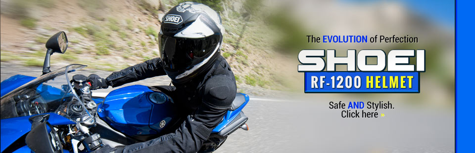 The Shoei RF-1200 Helmet is the evolution of perfection. Click here to shop online.