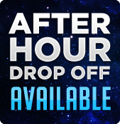After hour drop off available.