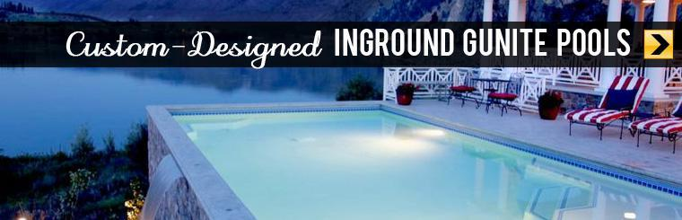 Check out our custom-designed inground Gunite pools.