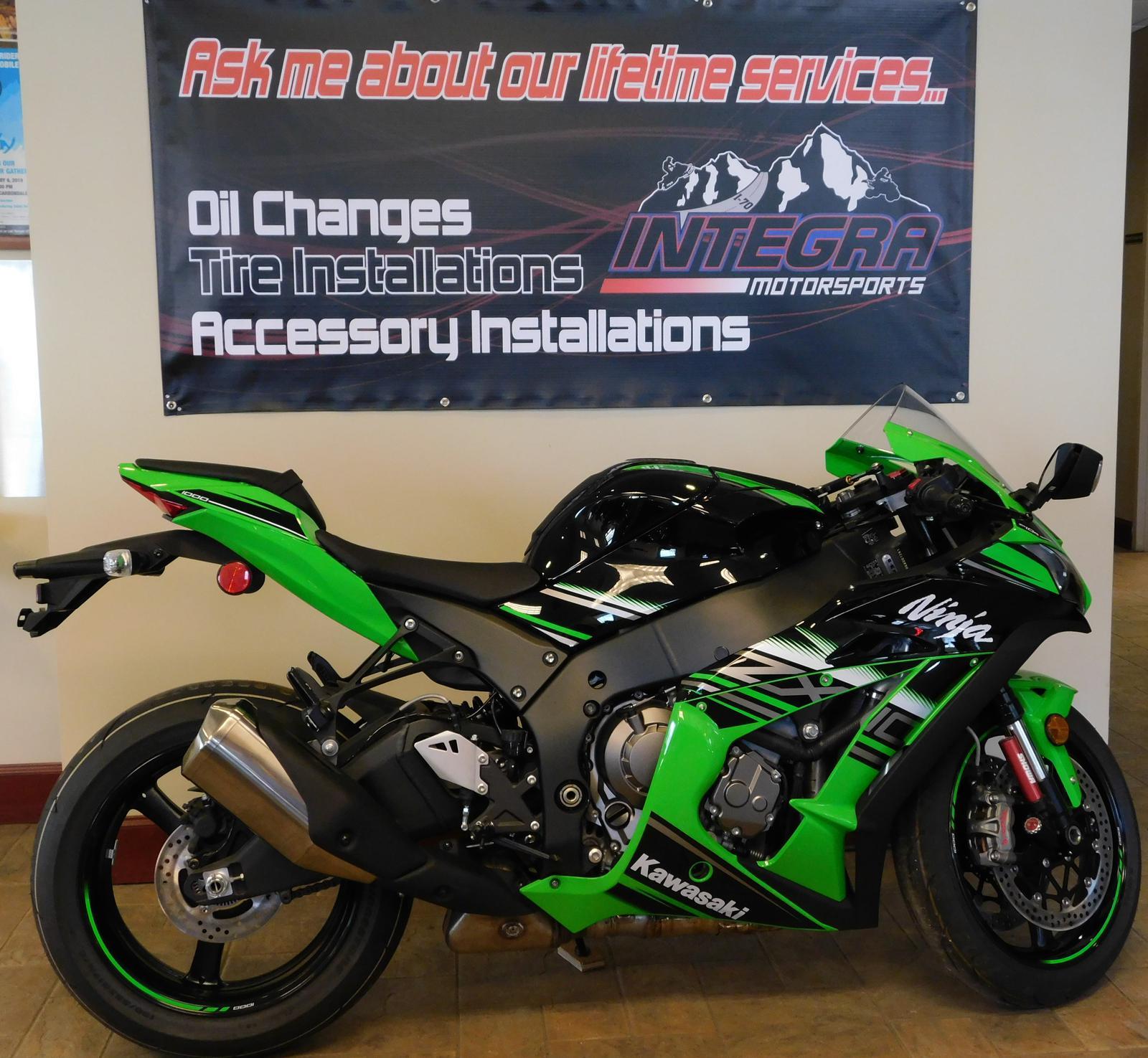 2016 Kawasaki ZX10 KRT Edition