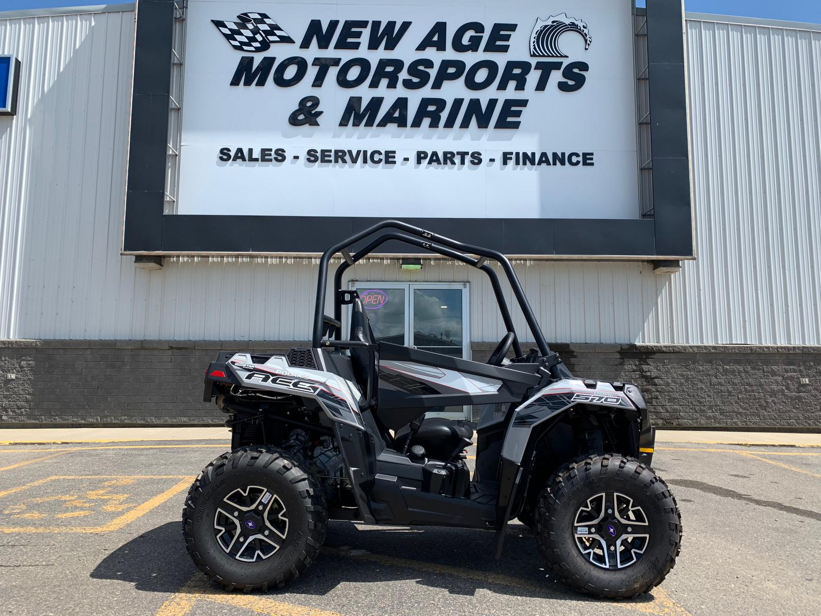 Polaris Ace For Sale >> 2019 Polaris Industries Polaris Ace 570 Eps Ghost Gray