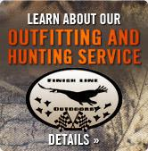 Learn About Our Outfitting and Hunting Service