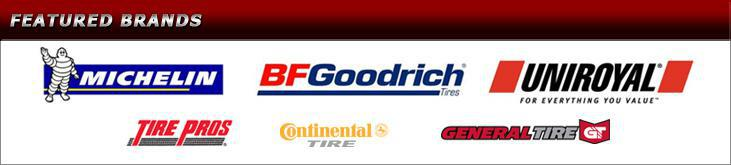 We proudly carry products from Michelin®, BFGoodrich®, Continental, and General. We are affiliated with Tire Pros.
