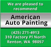 We are pleased to recommend American Auto Painting