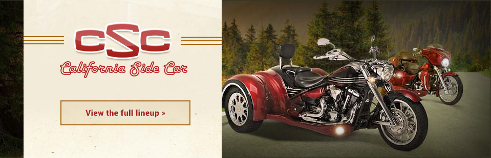 Click here to view our full lineup of California Sidecar!