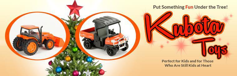 Kubota toys are perfect for kids and for those who are still kids at heart.