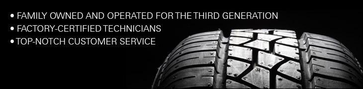 Family owned and operated for the third generation. Factory-certified technicians. Top-notch customer service.