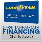 6 Mos. Same-as-Cash Financing!
