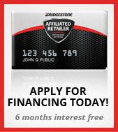 Apply for financing today! 6 months interest free.