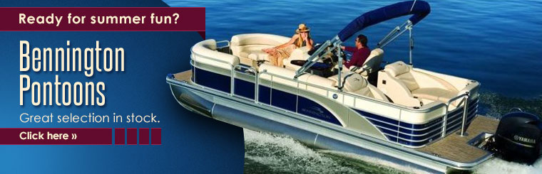 Bennington Pontoons: Click here for details!