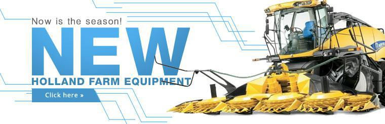 Click here to view New Holland farm equipment.