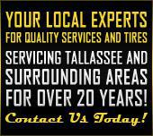 Parker Tire & Service Center: Your local experts for quality services and tires, servicing Tallassee and the surrounding areas for over 20 years! Contact us today.