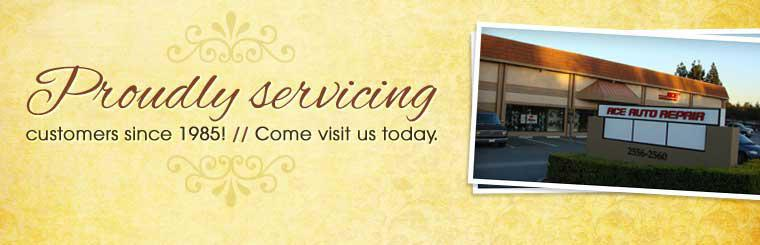 Proudly servicing customers since 1985! Come visit us today. Click here for directions.