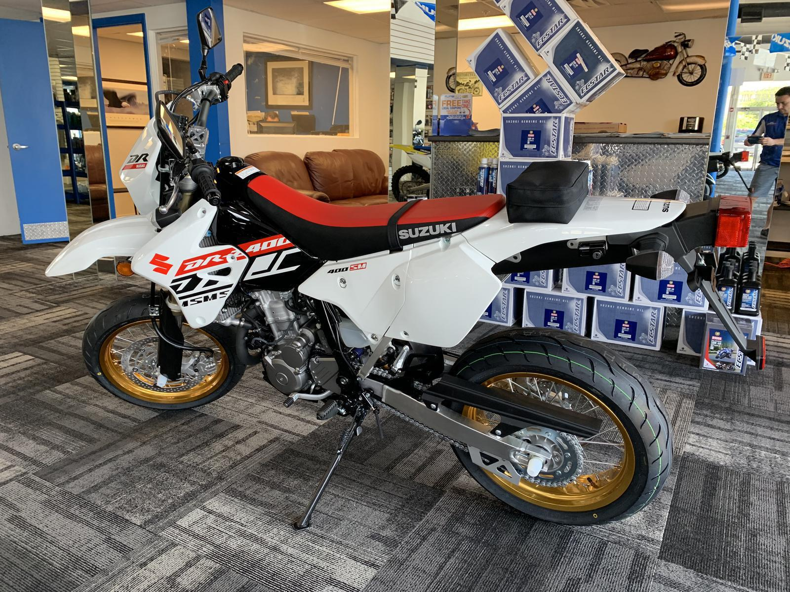2019 Suzuki DRZ 400 SM