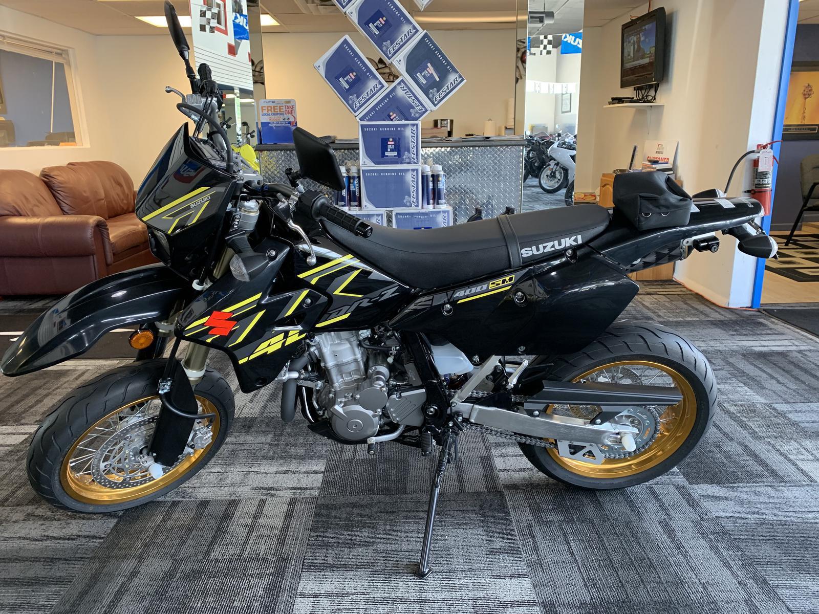 2018 Suzuki DRZ 400 SM