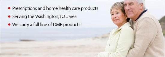 Super Pharmacy LLC prescriptions and home health care products. We serve the the Washington, D.C. area. We carry a full line of DME products!
