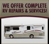 We offer complete RV repairs & services!