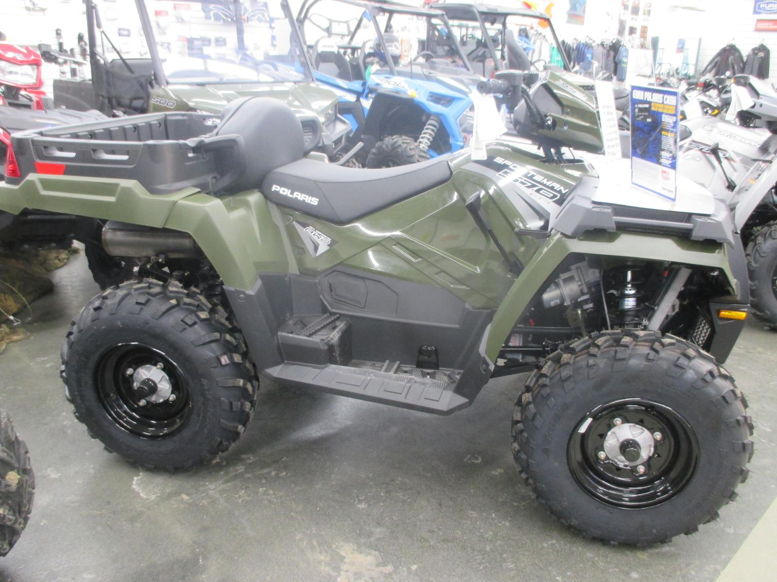 2019 Polaris Industries Sportsman® X2 570 - Sage Green for
