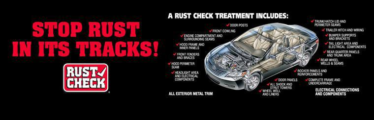Stop rust in its tracks! Click here to learn more.