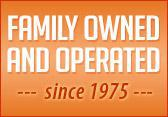 Family owned and operated since 1975.