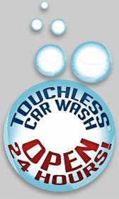 Touchless Car Wash Open 24 Hours!