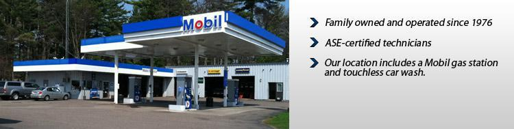 Minocqua Tire & Auto, Inc., has been family owned and operated since 1976 and our technicians are ASE certified. Our location includes a Mobil gas station and touchless car wash.