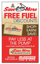 Pay less at the pump.