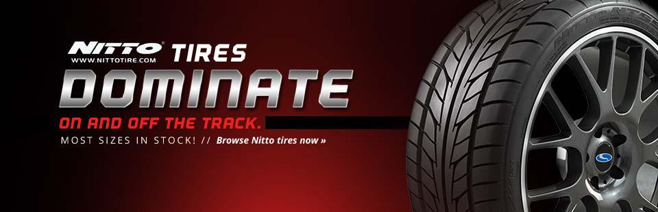 Browse Nitto tires now.