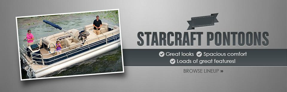 Click here to browse 2012 Starcraft pontoons!