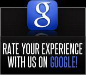 Rate your experience with us on Google!