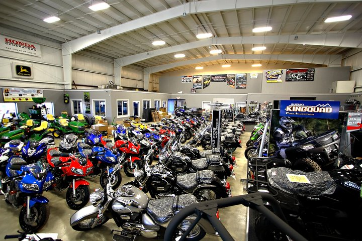 connecticut power and sport showroom