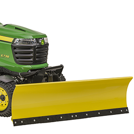 John Deere Front Blade And Snow Blower Attachments 60 Front Blade