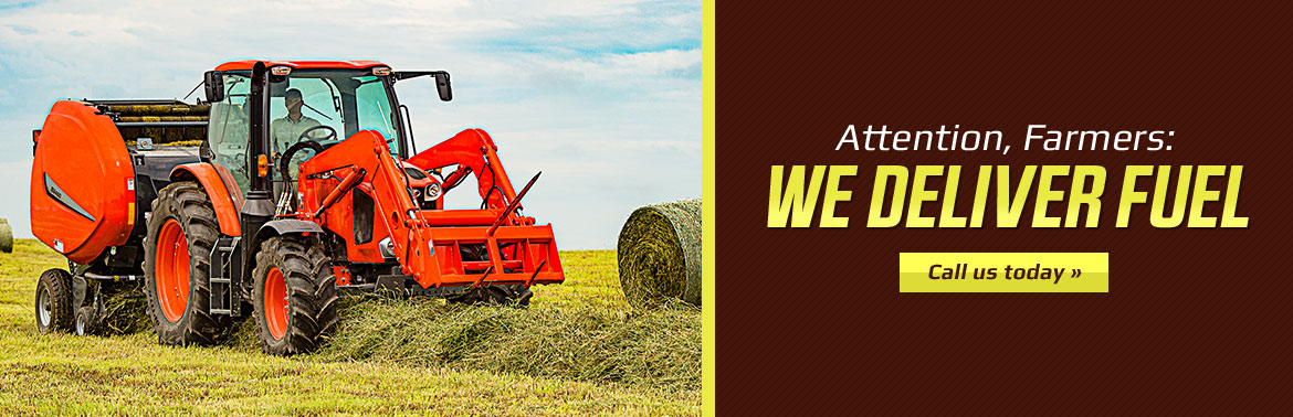 Attention, Farmers: We deliver fuel! Call (218) 338-4391 today for details.