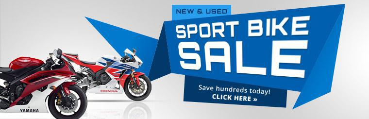 New & Used Sport Bike Sale: Save hundreds today! Click here to view the models.