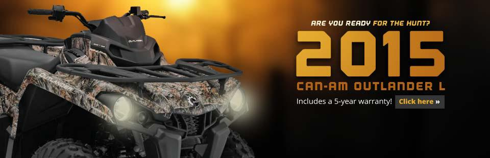 2015 Can-Am Outlander L: Check out the model here.