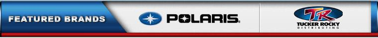 We proudly carry products from Polaris and Tucker Rocky.
