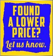 Found a lower price? Click here to contact us and let us know.