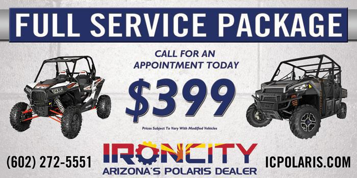 Full Service Package: $399