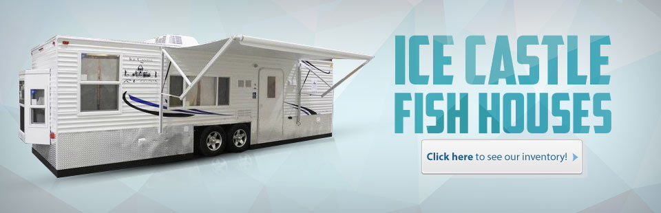 Ice Castle Fish Houses: Click here to see our inventory!