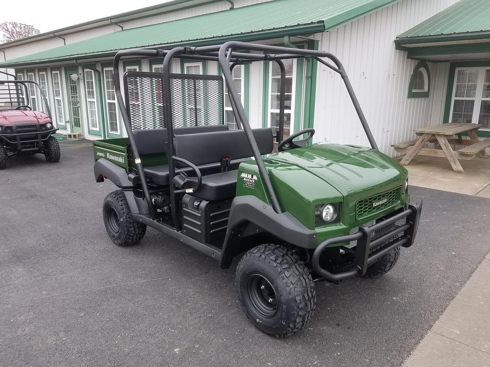 2019 Kawasaki MULE 4010 TRANS 4X4 Green