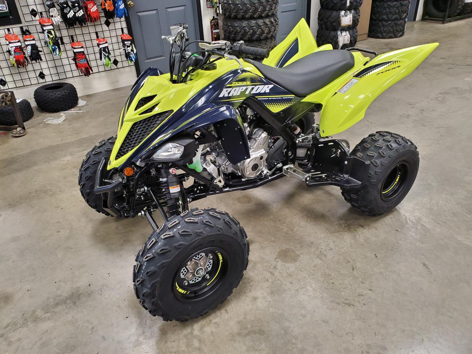 2020 Yamaha Raptor 700R SE Hi-Vis